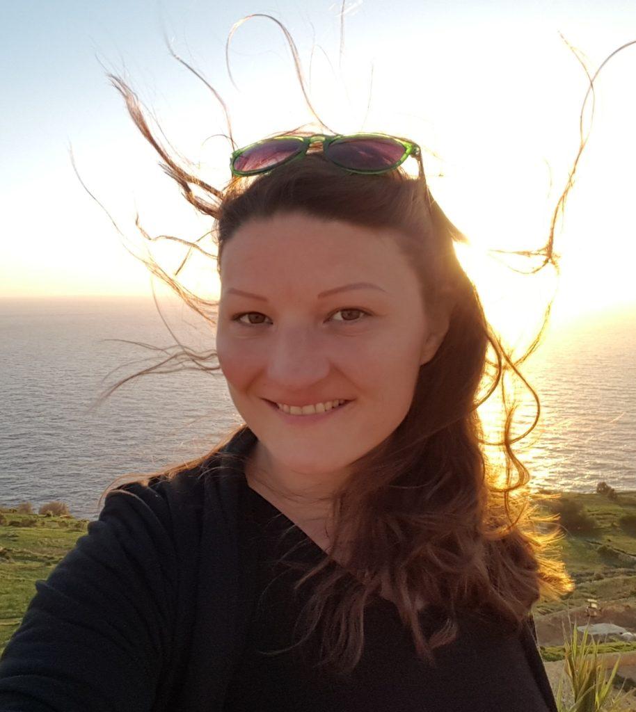 sophie-portrait-coucher-soleil