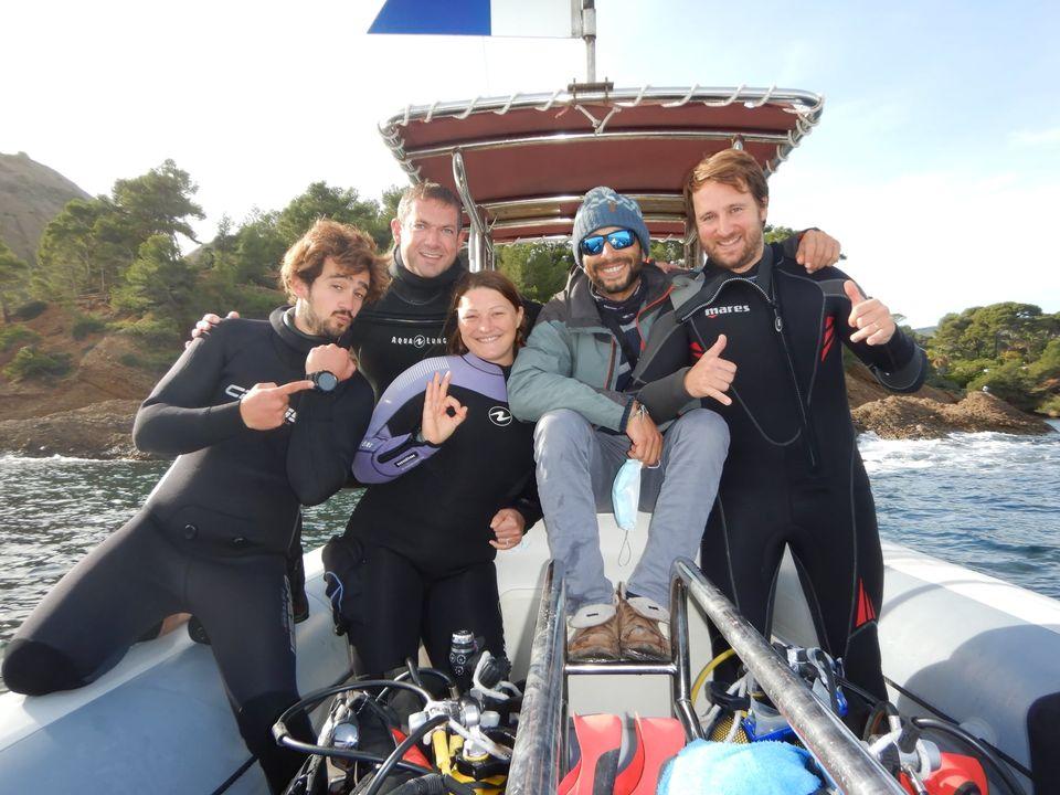 equipe plongée passion la ciotat